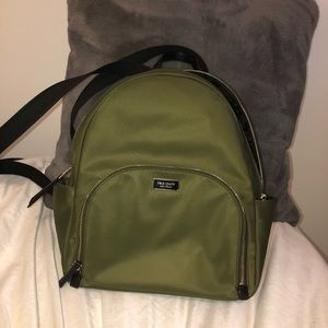 Kate Spade ♠️ Bookbag - Army Green